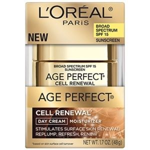 loreal Makeup - L'ORÉAL Age Perfect Cell Renewal Day Cream. 1.7oz.